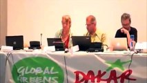 "Bob Brown's ""Global Government"" voted on at the Global Greens Congress 