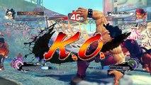 Ultra Street Fighter IV battle: Hugo vs Evil Ryu