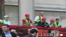 London Olympics 2012 bid - Trafalgar Square footage (Wednesday, 6 July, 2005)