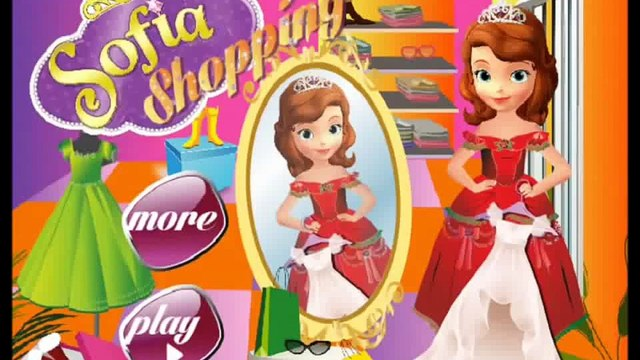 Disney Princess Sofia Shopping Game Video Sofia The First Gameplay Shopping Games