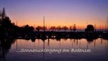 Sonnenuntergang - Sunset - Bodensee - Lake Constance - Timelapse - Zeitraffer - Nikon D5000