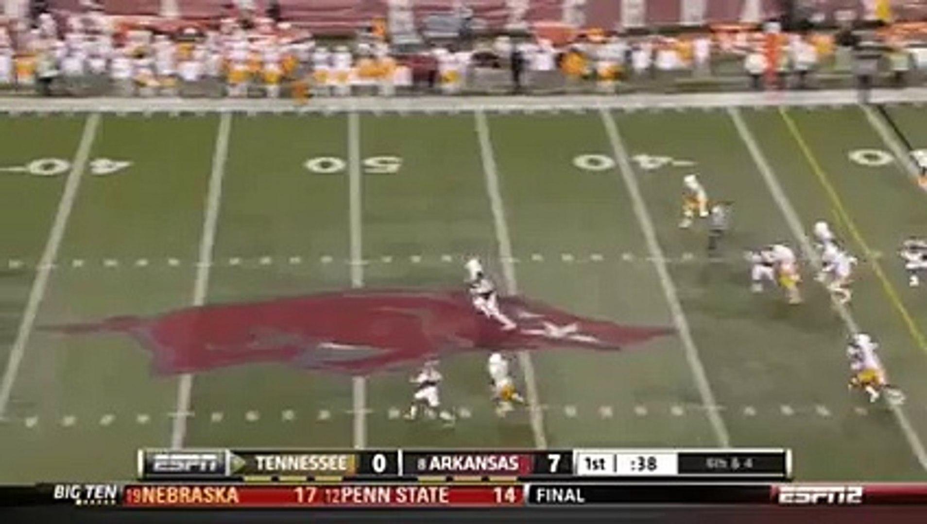 American College Football Punt Return - Short (Documentary)