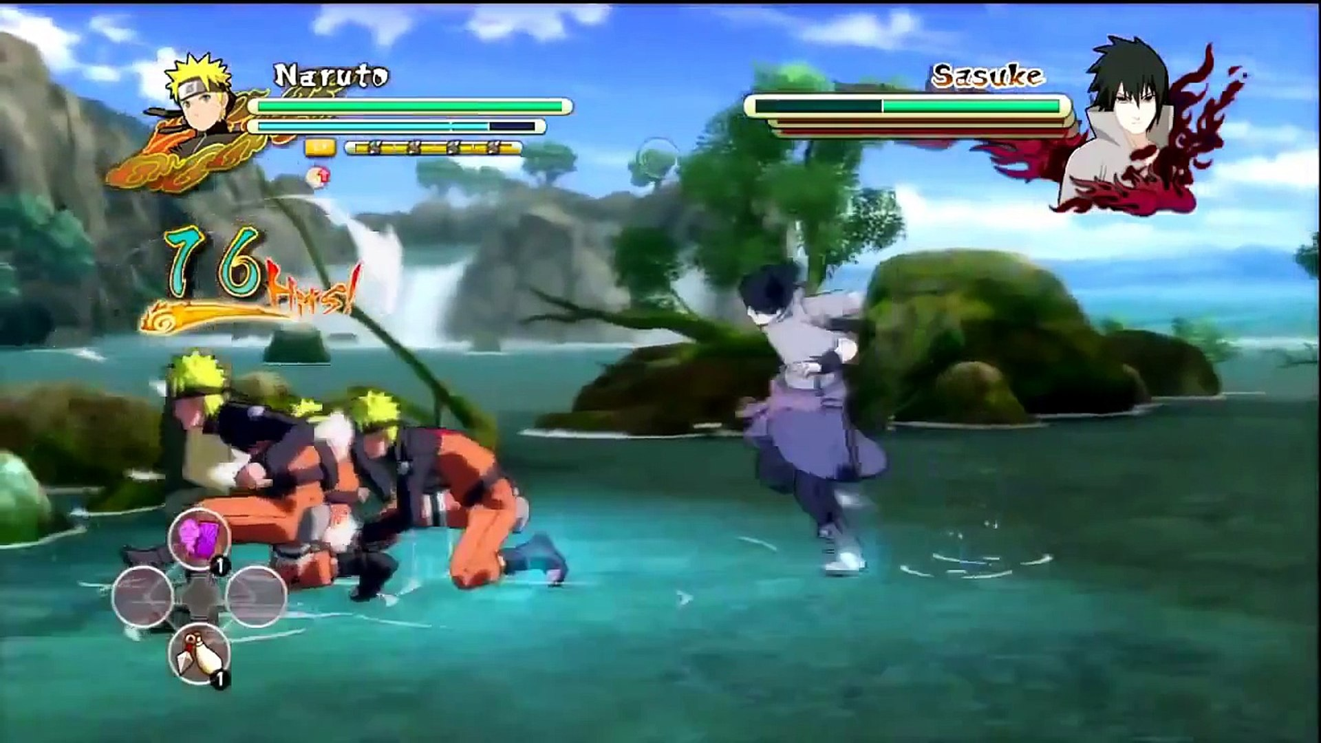 Naruto vs Sasuke Full Boss Battle : Naruto Shippuden Ultimate Ninja Storm 3