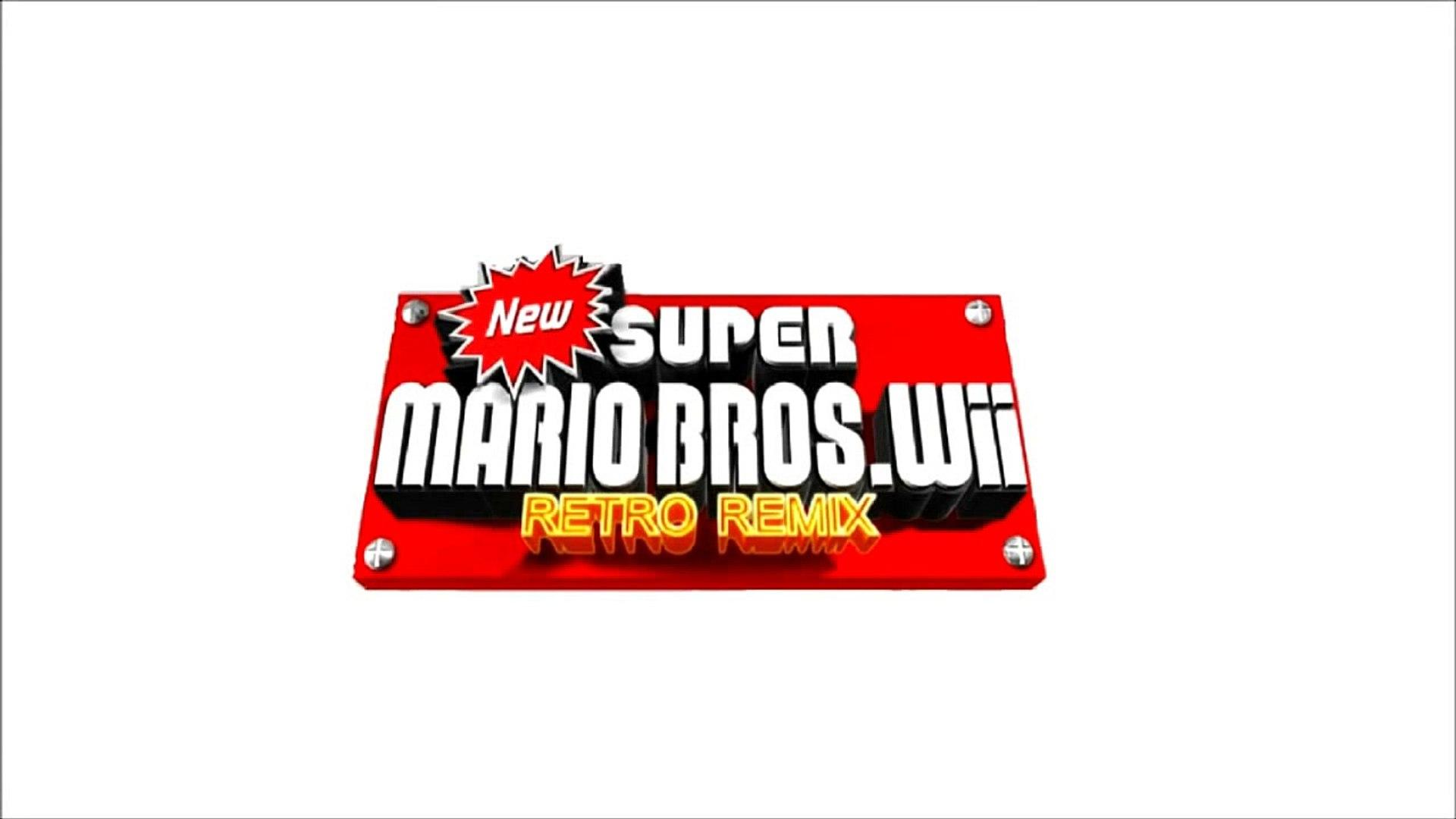 New Super Mario Bros Wii Retro Remix Soundtrack Unused