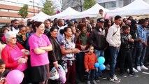 Flashmob - OCTOBRE ROSE - Evry-Courcouronnes - Au cœur de la brocante