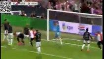 Feyenoord 3 - 2 FC Utrecht Goals & Highlights Eredivisie 08.08.2015
