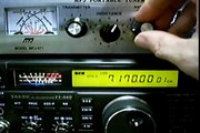 Demo of MFJ model 989c antenna tuner - video dailymotion