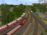 Trainz Railroad Simulator 2004 - vlečka z Kladenské Vejhybky do huti Koněv - 70.léta