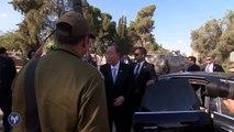 Le secrétaire général des Nations Unies, M. Ban Ki-Moon, visite un tunnel terroriste
