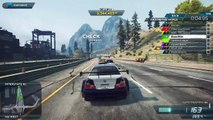 BMW M3 GTR vs Bugatti Veyron Vitesse: Need for Speed Most Wanted Online Race