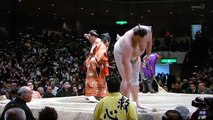 2012 Jan SUMO - Baruto v Harumafuji - Day 11