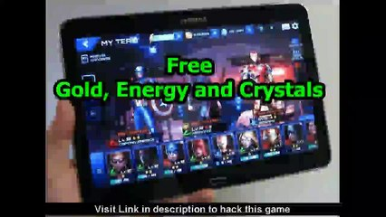 Marvel Future Fight Hack Unlimited Crystals, Gold, Energy and Unlock All Characters