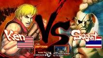 Arcade Infinity SF4 3-on-3 Teams - LB6 Team BBA vs Team Kaiote Uppercut