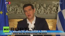 Greece: Tsipras thanks Greeks for 'brave decision' as country votes 'NO'