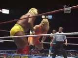 Hulk Hogan & Brutus Beefcake vs Mr. Perfect & The Genius (MSG 02.19.90)