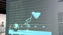 """Exposición Pixar. 25 años de animación Obra Social """"la Caixa"""" (vídeo sin editar. Material prensa)"""