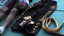 Eric Destruels aux Golden Belts FC. Souvenirs. Arts martiaux mixtes. Pankido. Kenpô.