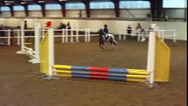 Tuvas fjärde tävling i hästhoppning 50 cm