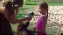 Reporter Tries To Interview Girl With Micro Mini Pony, Things Go Terribly Wrong