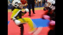 Haley Glass int. 8/9 yr old Point Sparring @ Blitz Martial Arts~Tampa, FL 8/13/2011