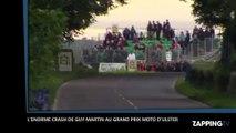 L'énorme crash de Guy Martin au Grand Prix moto d'Ulster