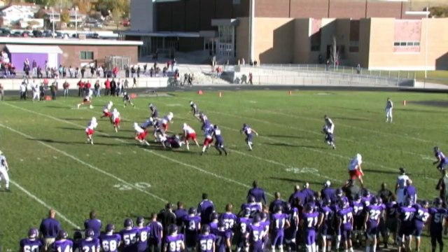 Preston Curtis East High School Football Highlights