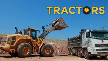 Real Trucks Tractors and Bulldozers |  Toys for Boys