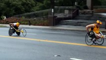 Wheelchair Division of Peachtree Road Race 2015