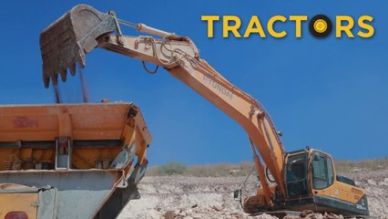 Trucks Diggers and Drilling Machine | Videos For Children |  Toys for Boys