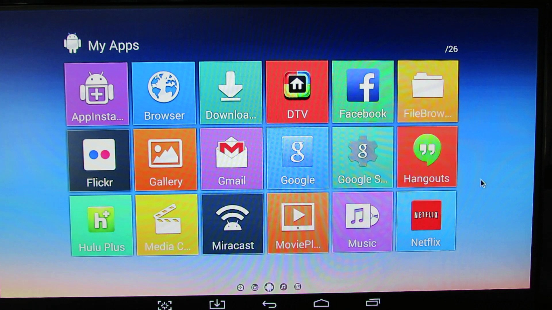 Latest Android KitKat 4 4 2 stock firmware installed on Vigica P3S TV Box