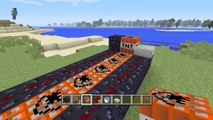 Minecraft Xbox One - How to Make TNT Cannon (TNT Launcher in Minecraft PS4 & Xbox One)