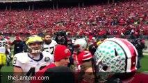 Undefeated Ohio State Buckeyes sing 'Carmen Ohio'