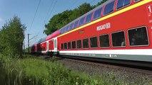 111 001+ 216 221 und V200 007 in Ahrensburg und Rahlstedt Mai 2015