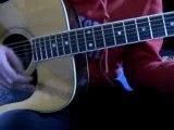 guitare acoustic Jack Johnson - Gone