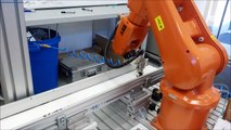 ABB IRB 120 with machine vision and conveyor tracking