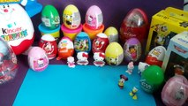 Kinder Surprise Eggs Play Doh Peppa Pig Mickey Mouse Minnie Mouse Donald Duck MST