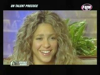 Sp Shakira un talent precoce