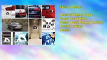 Decal Stickers Yoga Pose Decoration Waterproof Racing Vehicle Tablet L Skins Decals