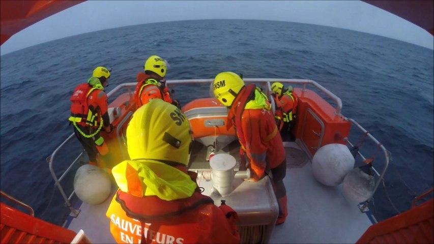 SNSM Cap d'Agde: le sauvetage d'un navire en perdition