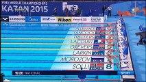 Mondiaux de natation : deux nouvelles médailles pour les nageurs français en Russie