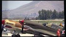 Chino Airshow 2014 - F-22 Raptor display and heritage flight