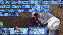The Sims 3 University Life - PlantSim Tutorial