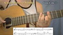 Black Orpheus /Manhã de Carnaval lezione chitarra samba e bossa nova