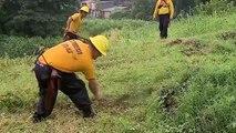 Capacitan a bomberos para enfrentar incendios forestales