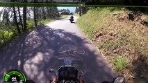 Virée à moto dans les Alpes du Sud de la France