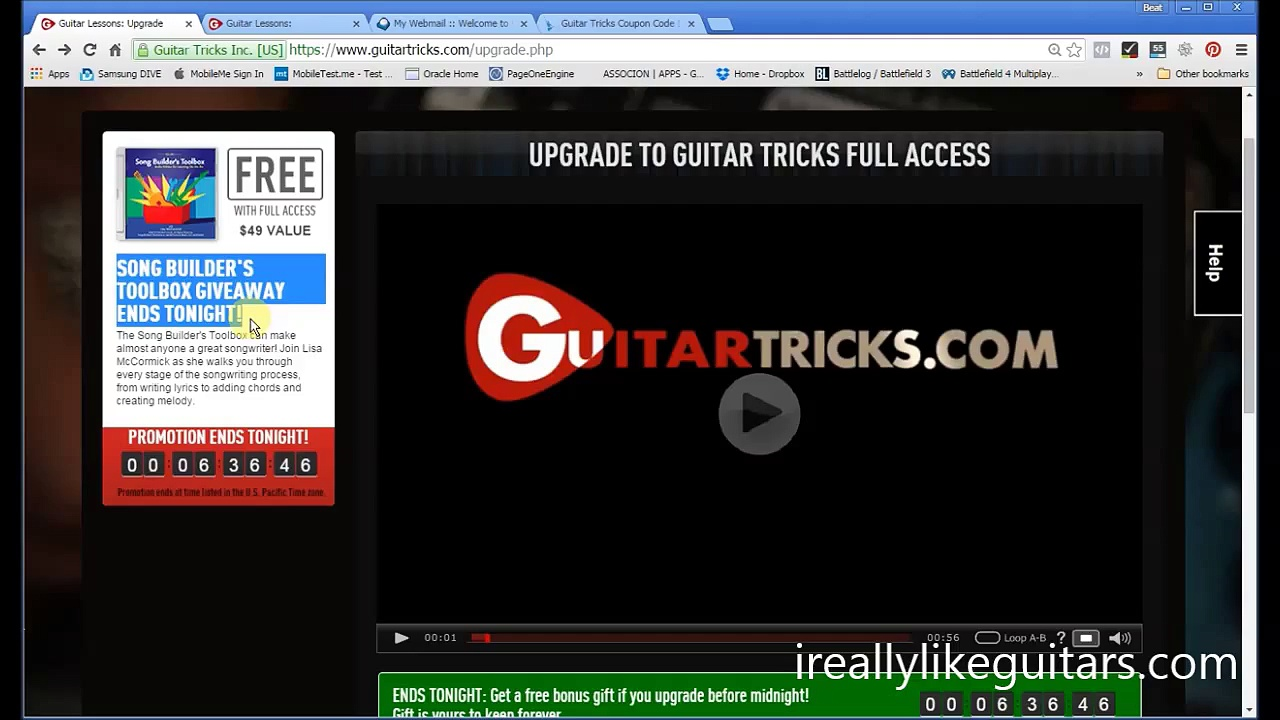 Guitar Tricks Coupon Code Guide to the Best Deal in 2015