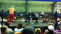 The Mikes (Psycho Mike & Mustang Mike) vs  Bad Company (Stan Sweetan & Marty Graw) - VooDoo Wrestling