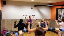 'Que Tu Quieres' Dance Toning Routine, focus: chest/cardio (merengue)