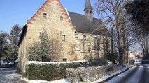 La vallée de la Woluwe sous la neige - 4 février à Bruxelles