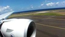 Take off from Reunion Island / Décollage de La Réunion